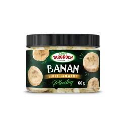 Banan liofilizowany plastry