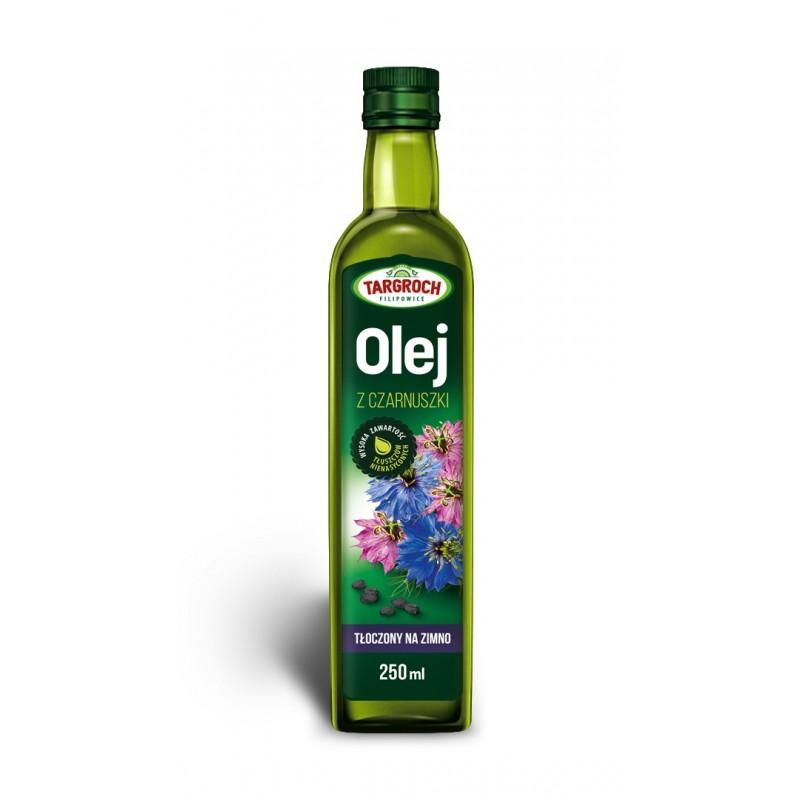 Olej z czarnuszki tłoczony na zimno 250 ml