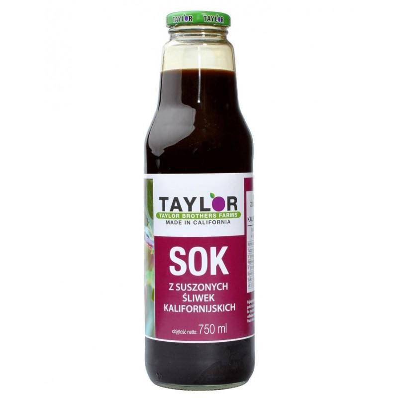 Sok z suszonych śliwek kalifornijskich Taylor 750 ml
