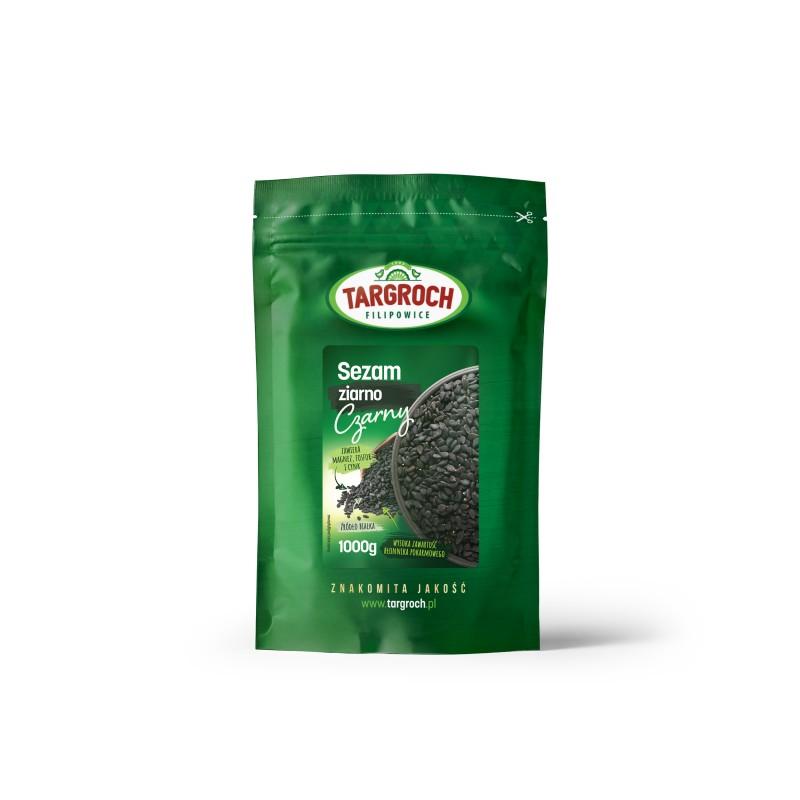 TARGROCH Sezam czarny ziarno 1000 g