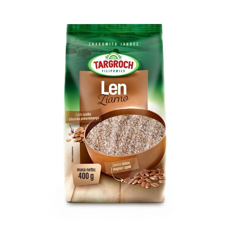 TARGROCH Len ziarno 400 g