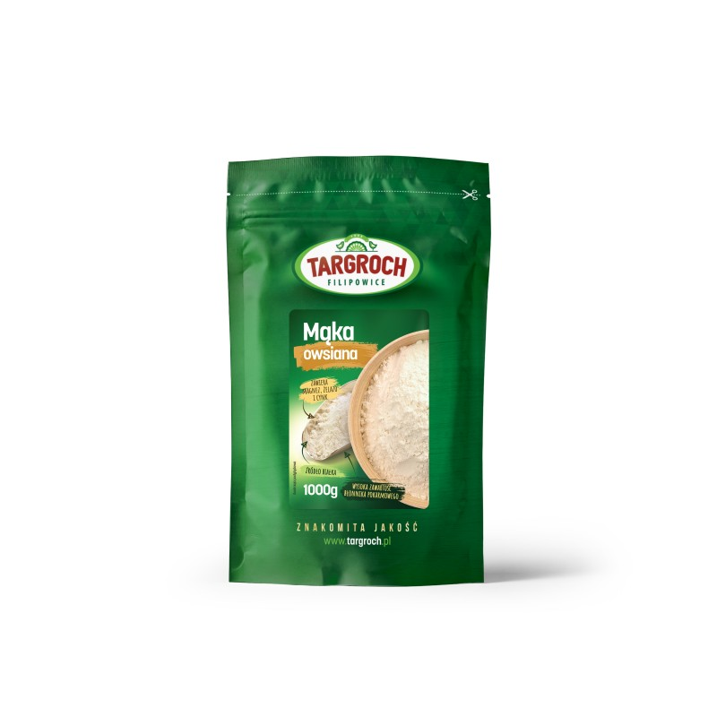 TARGROCH Mąka owsiana 1000 g